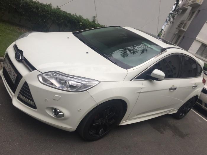 Bán Ford Focus 2.0L màu trắng sx 2014 xe đẹp 2
