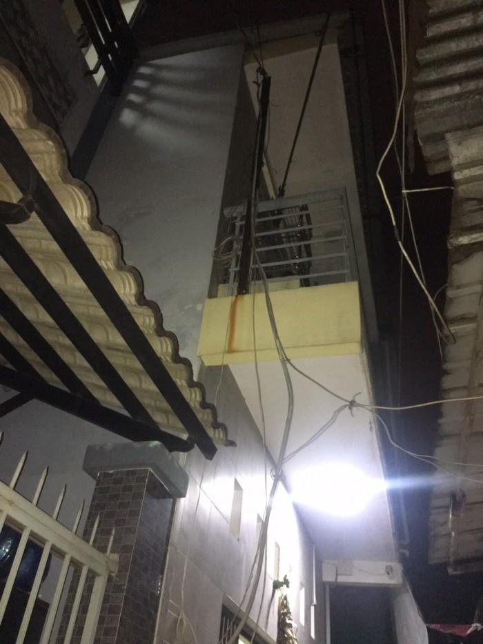 Cần Bán Nhà Hẻm Lê Thúc Hoạch . P Phú Thọ Hòa . Tân Phú  . 4,2x7,5m . Nhà 1 Lầu