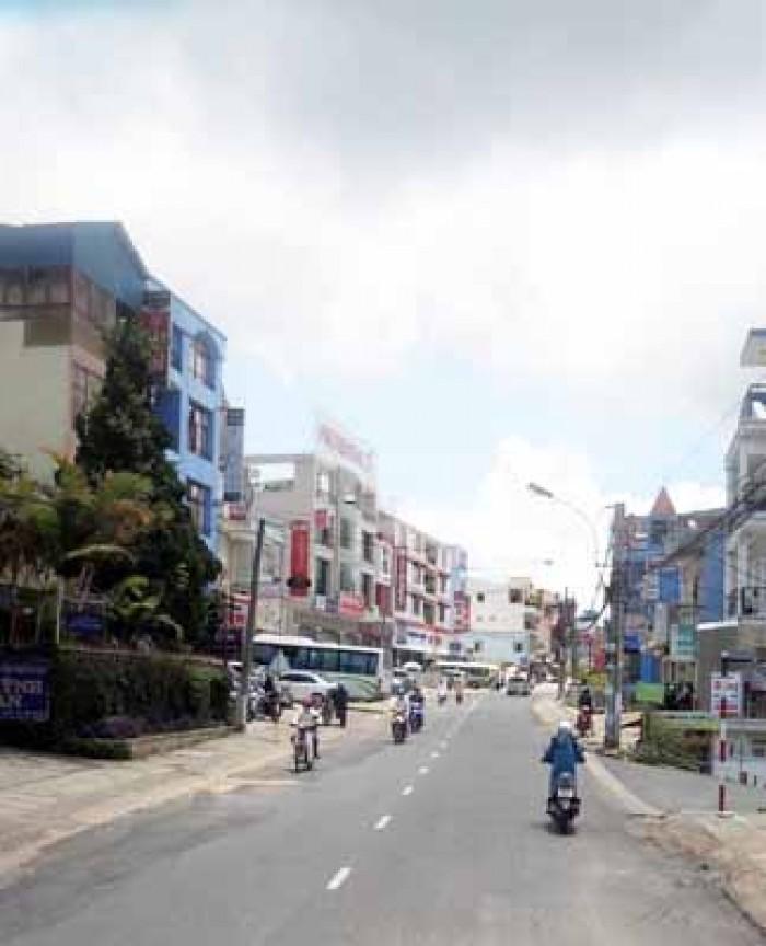 Nhà đất kinh doanh nở hậu ngay trung tâm phố Đà Lạt