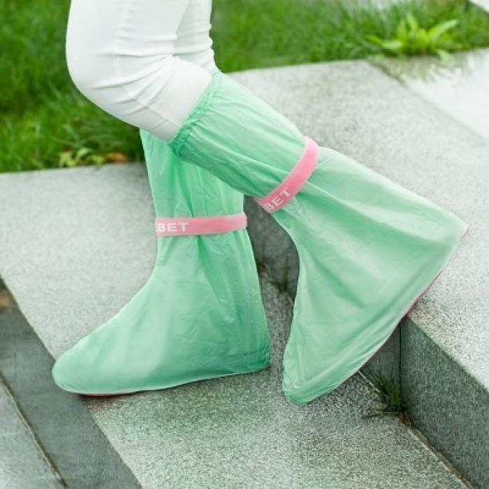 Bộ 2 Bọc Giày Đi Mưa Bảo vệ đôi giày  mưa gió, đi làm, đi du lịch, phượt, chơi cát.. - MSN388263