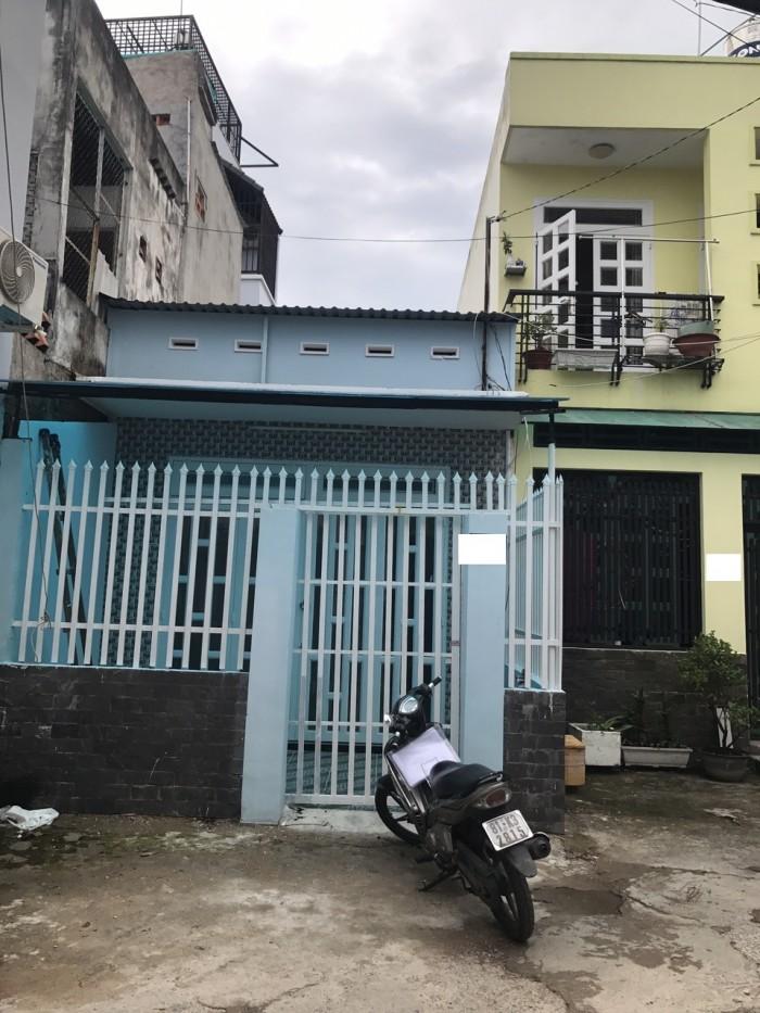 Bán Nhà Hẻm Đường Thống Nhất, phường 16, Quận Gò Vấp