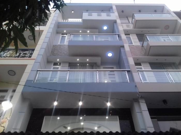 Mặt tiền Trần Quang Khải, Q.1, DT: 5.1x25m, 4 tầng