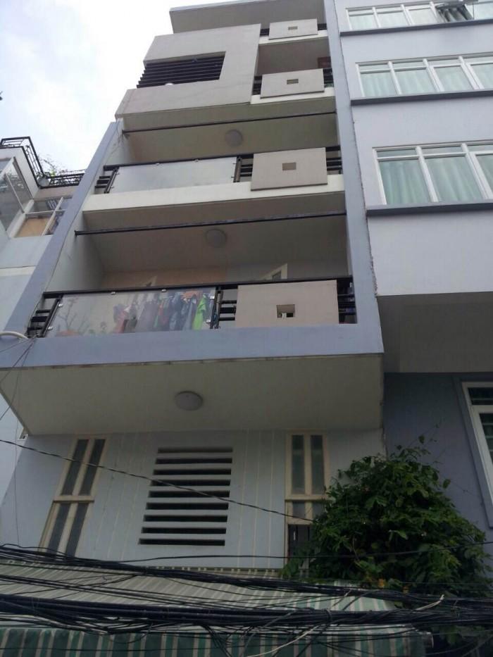 Bán Nhà Mt Đường Đặng Dung, Q. 1 - Trệt, 4 Lầu, 10 Phòng