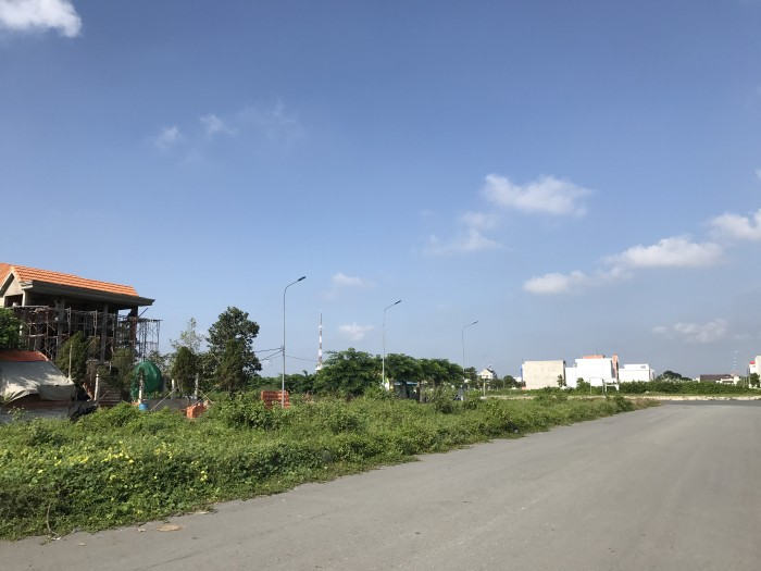 Đất nền dự án tại đường Nguyễn Hữu Trí – Thị Trấn Bến Lức - Long An.