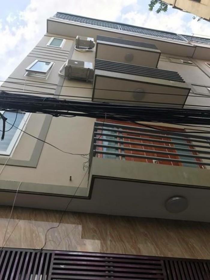Siêu nóng ô tô đỗ cửa nhà mới đét 5 tầng DT 30m² mặt tiền 6m Hoàng Mai.