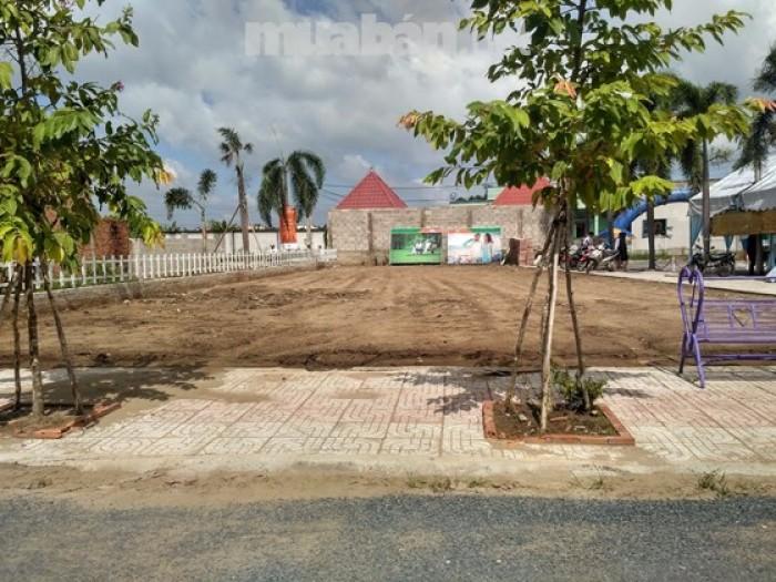 Thanh lý gấp đất khu Trung tâm hành chính mới Bình Chánh sổ hồng riêng bao công chứng