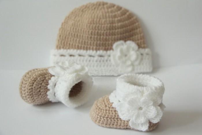Giầy Mũ len cho bé