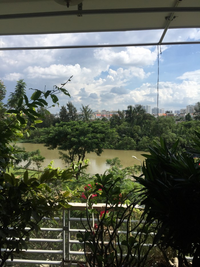 Bán nhà Tân Quy Đông Q7, view sông, 4*19m2, 1T, 3L, 5PN