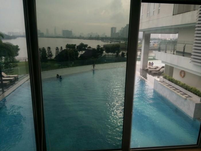 Căn hộ Duplex Đảo Kim Cương 308 m2, 4 phòng ngủ, tầng 18 -19, view sông Sài Gòn Quận 1