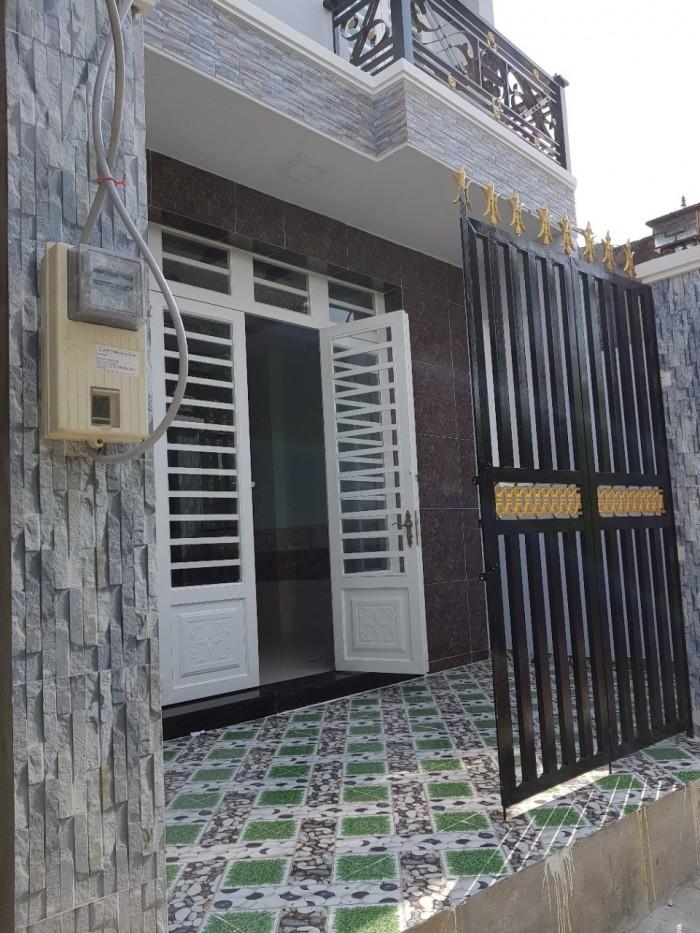 Bán nhà sổ hồng riêng 3 lầu, HTP,Nhà Bè, DT 5x10m,3 lầu.