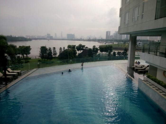 Tháp Brilliant, đảo Kim Cương, căn hộ 3 phòng ngủ, 180 m2, view sông