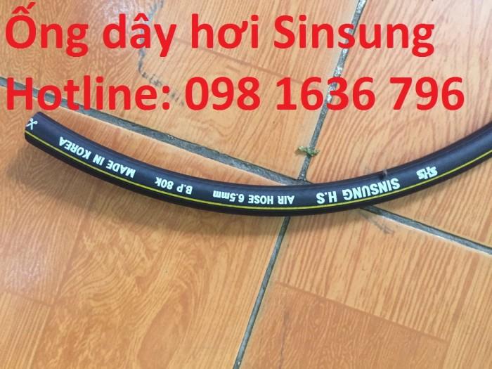 Bán ống dẫn hơi Hàn Quốc, ống dây hơi Toyork , dây hơi Singsung