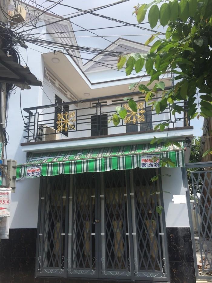 Cần bán nhà hẻm 458 Huỳnh Tấn Phát,Quận 7.DT: 7x15m,1 trệt 1 lầu.Giá 3,42 tỷ