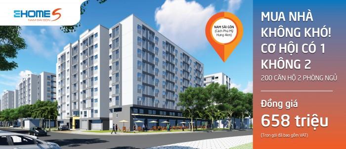 Chính thức nhận đặt chỗ căn hộ Ehome S Nam Sài Gòn