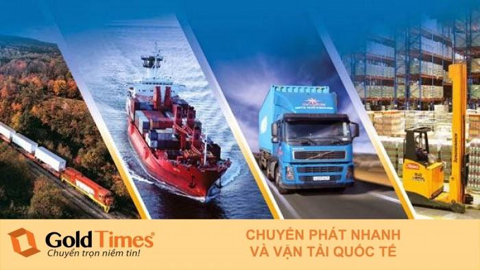 Dịch vụ chuyển phát nhanh trong nước và quốc tế Goldtimes