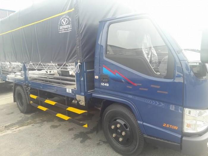 Xe IZ49  2.5 tấn  Ero4 bán trả góp hằng tháng 8