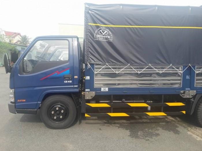 Xe IZ49  2.5 tấn  Ero4 bán trả góp hằng tháng 6
