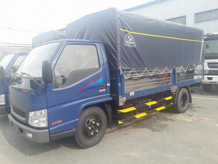 Xe IZ49  2.5 tấn  Ero4 bán trả góp hằng tháng 3