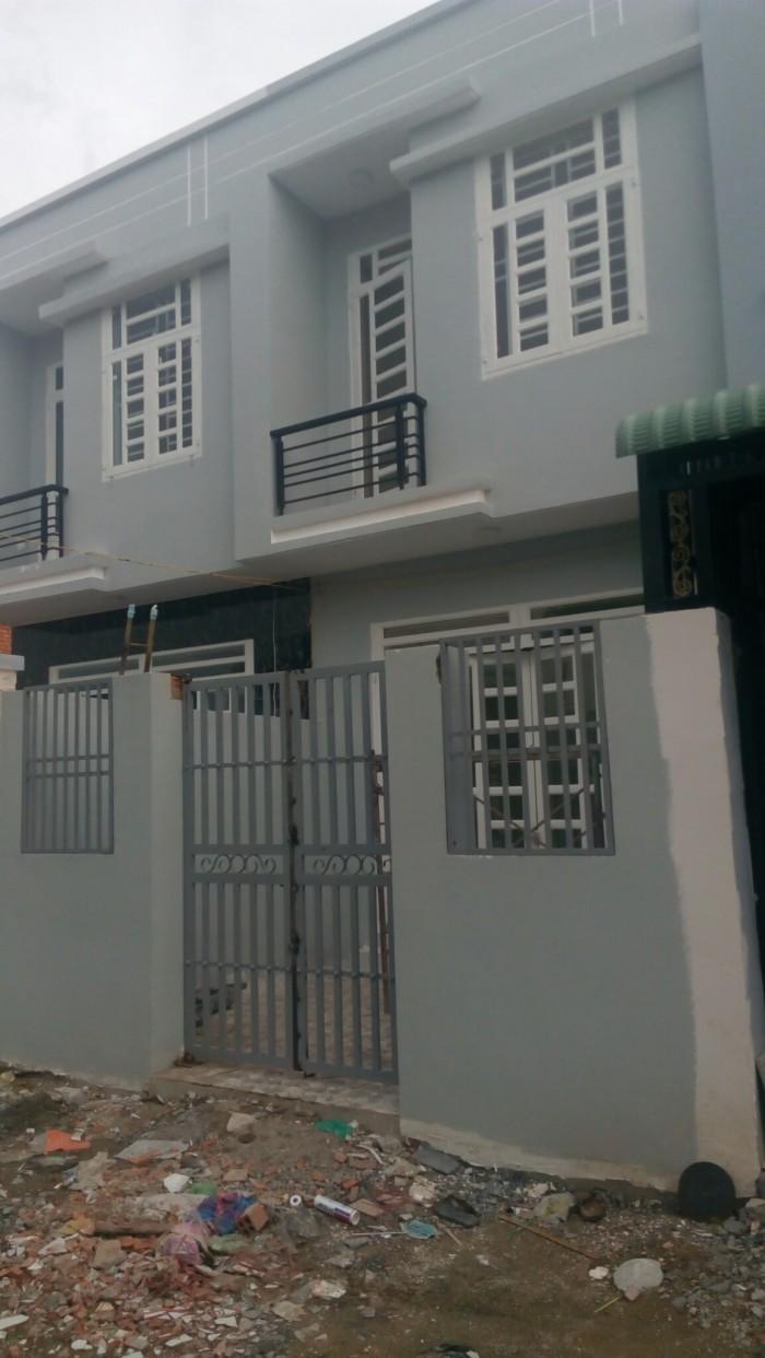 Còn 2 căn nhà mặt tiền đg Ng.Hữu Trí dt100m2 SHR