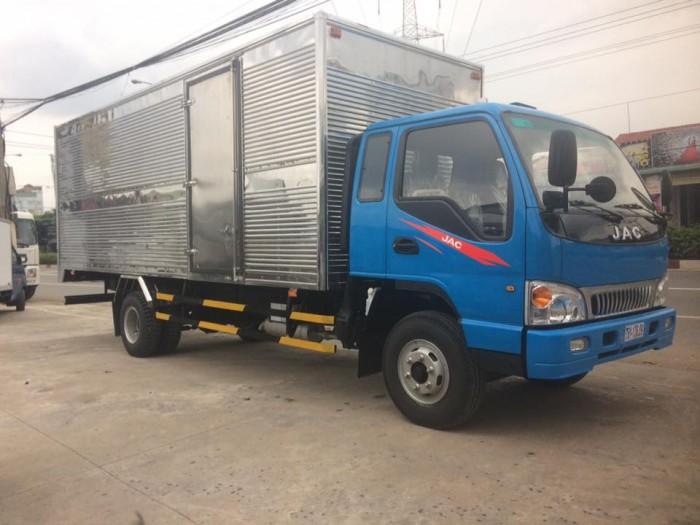 Bán xe tải Jac 6t4 mới 2017 . Đại lý chuyên bán xe tải Jac 6t4 tốt nhất khu vực