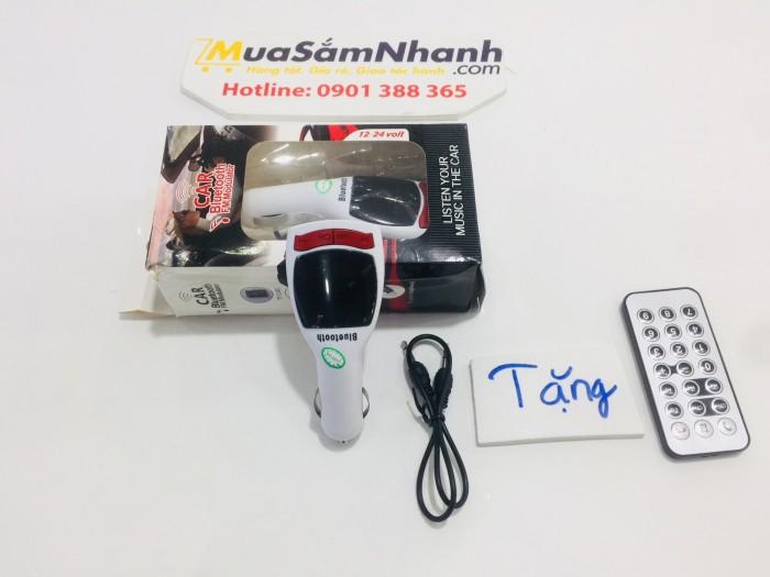 USB Bluetooth 5 in 1 Cho Ô tô Car Mp3 Player 1 + Tặng kèm Remote - MSN181280