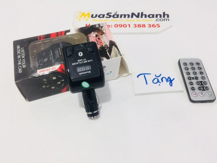 USB Bluetooth 5 in 1 Cho ô tô Car Mp3 Player 3 + Tặng kèm Remote - MSN181282