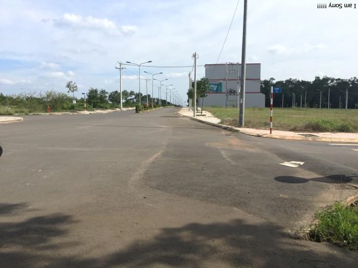 Bán đất mặt tiền đường Khu Dân Cư Võ Nguyên Giáp xã Phước Tân, sổ đỏ riêng giá rẻ