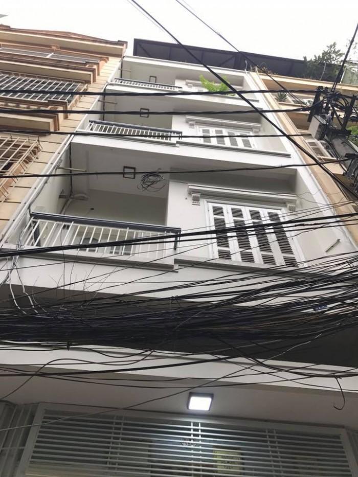 Bán nhà Võ Văn Dũng – Đống Đa gara ô tô, KD tốt 52m2, 4 tầng