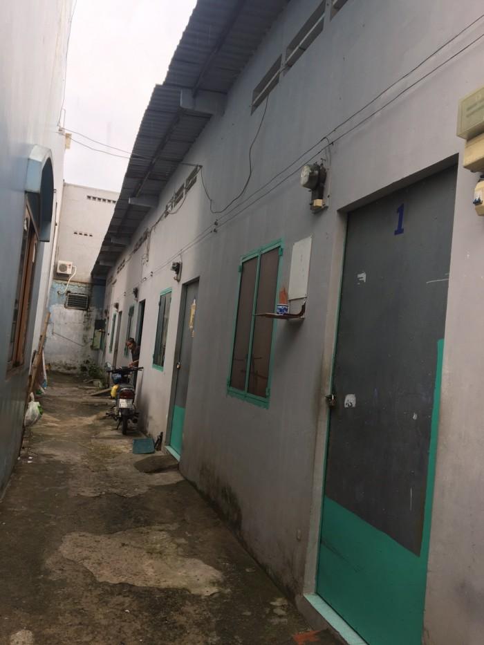 Bán dãy nhà trọ đường Đất Mới Phường Bình Trị Đông Quận Bình Tân