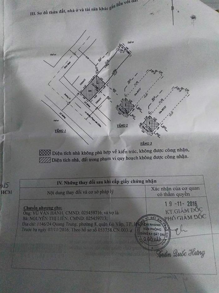 Bán nhà mặt tiền đường số 51, phường 14, quận Gò Vấp, 4 x 20m, 1 Trệt + 2 Lầu, giá 5,1 tỷ