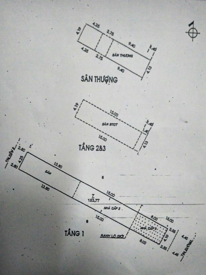 Bán Nhà 2 Mặt Tiền Đường Phan Huy Ích, Phường 15, Tân Bình, 4,1 x 37m, 1 trệt + 3 Lầu, giá 10,5 tỷ