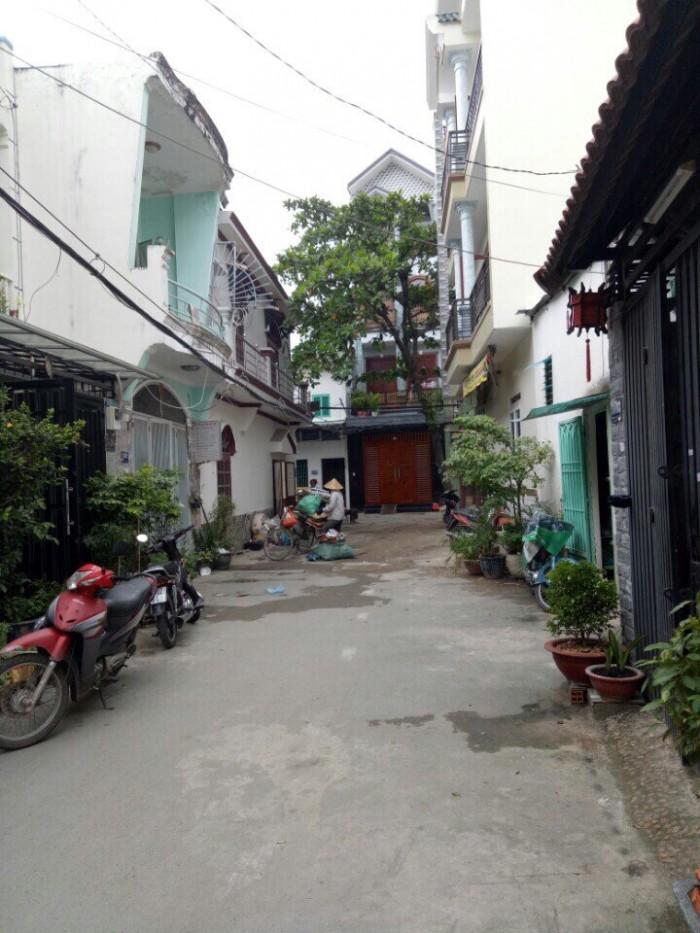 Bán Nhà Hẻm Đường Nguyễn Tư Giãn, phường 12, Quận Gò Vấp