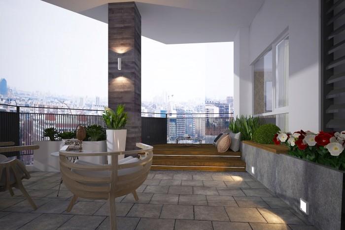 Mua căn hộ Penthouse Monarchy sở hữu sân thượng ngắm cảnh toàn TP