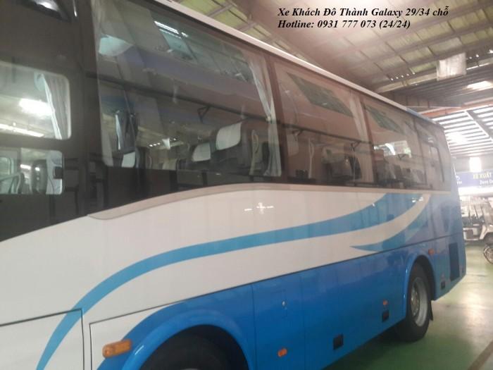 Giá xe khách Đô Thành Galaxy 29 chỗ, Khuyến mãi lớn khi mua xe khách Đô Thành Galaxy 29 chỗ