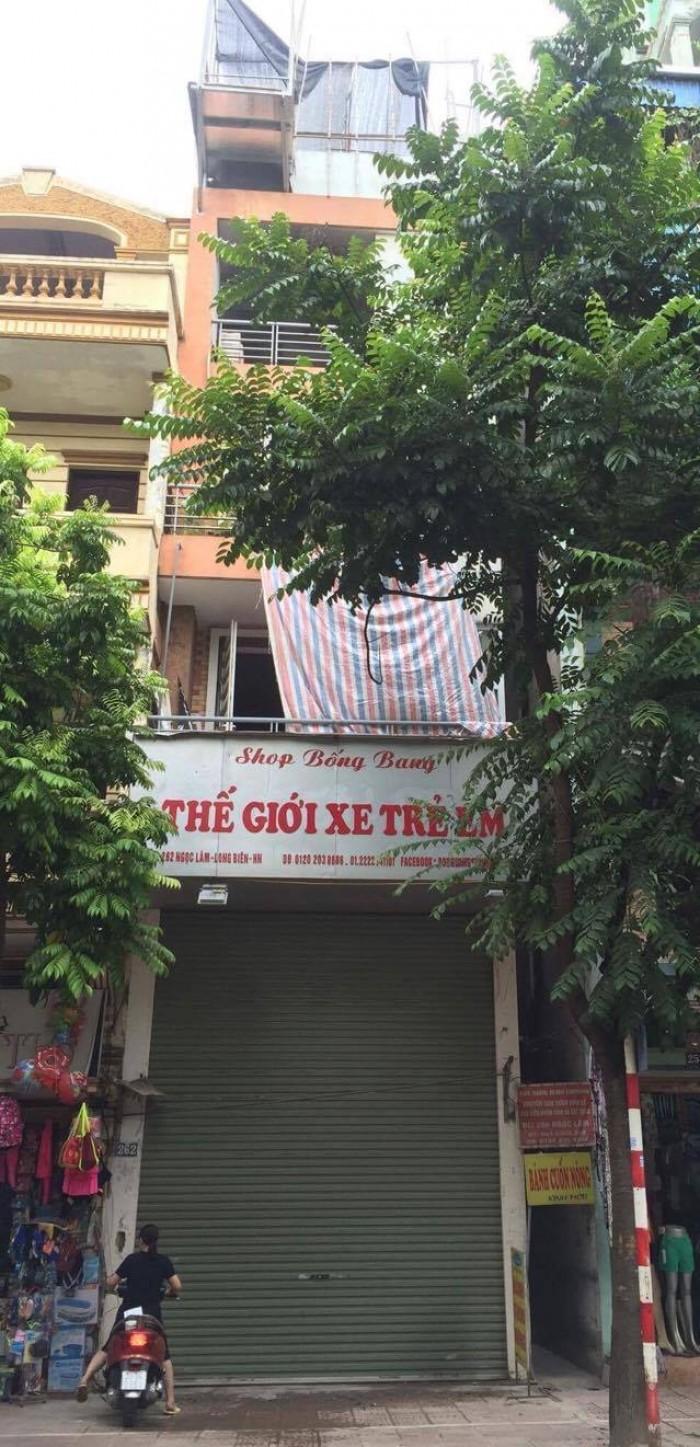 Nhà mặt phố Ngọc Lâm