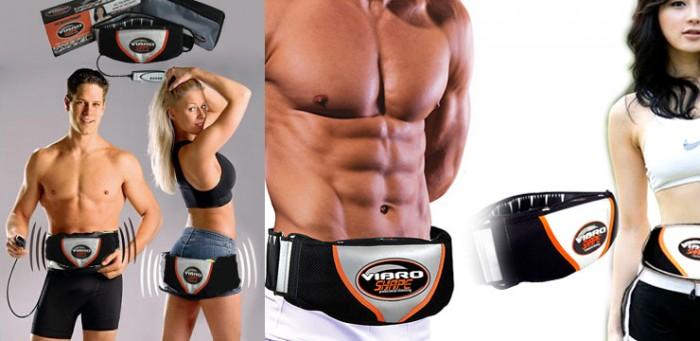 Máy giảm cân giúp Cơ bụng, hông, mông, đùi, cơ cánh tay săn chắc,Đai rung nóng giảm béo cho nam nữ