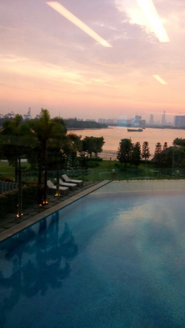 Bán căn hộ 2 phòng ngủ, 88 m2, view nội khu hồ bơi resort, tháp Bora Bora, Đảo Kim Cương