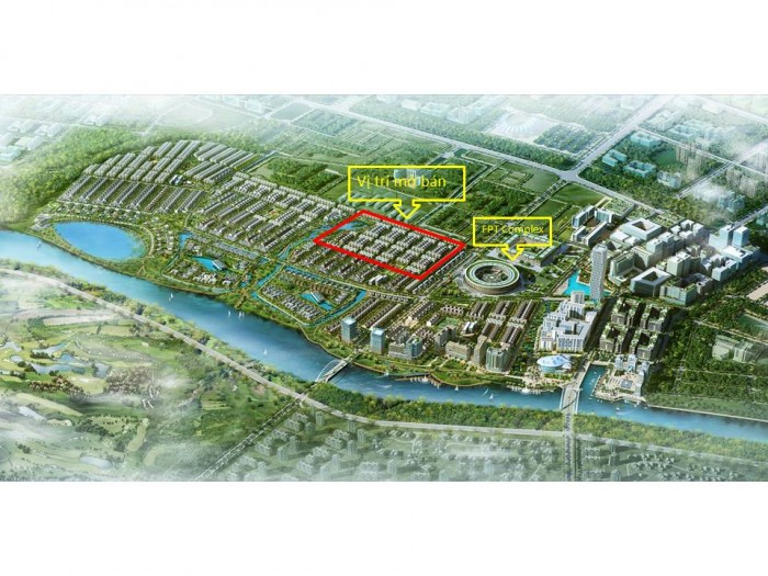 Mở bán đợt 2 khu đô thị FPT City