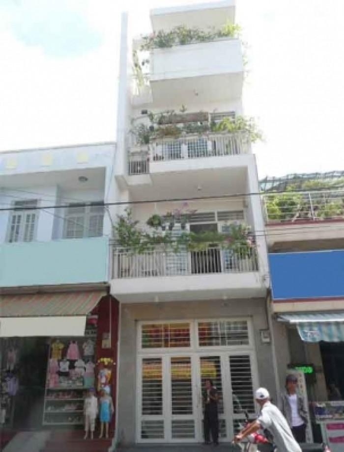 Bán nhà Mặt tiền Tân Thuận 2, DT: 5.5x13.5m, Xây 3 lầu