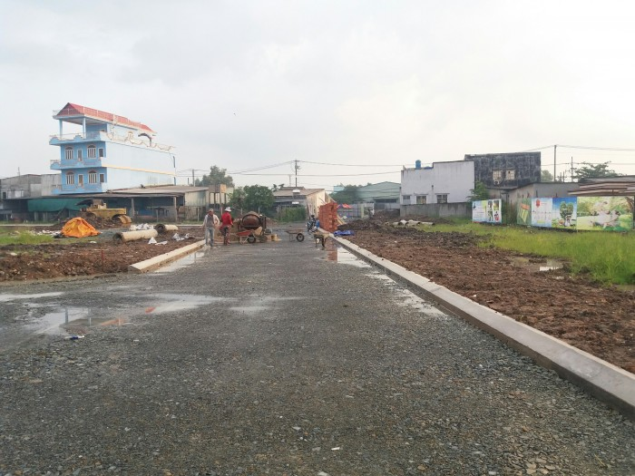 Cần bán lô đất mặt tiền Trần Đại Nghĩa, Bình Chánh. Giá chỉ 15tr/m2
