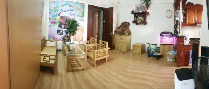 Cần bán chung cư Khu đô thị Việt Hưng-Long Biên. DT:69m2 FULL nội thất.
