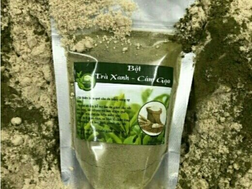 Bột trà xanh cám gạo3