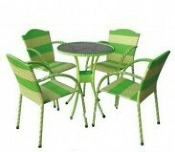 Bàn ghế Chuyên về bàn ghế Cafe, nhà hàng,mẫu mã đẹp, kiểu dáng mầu sắc đa màu