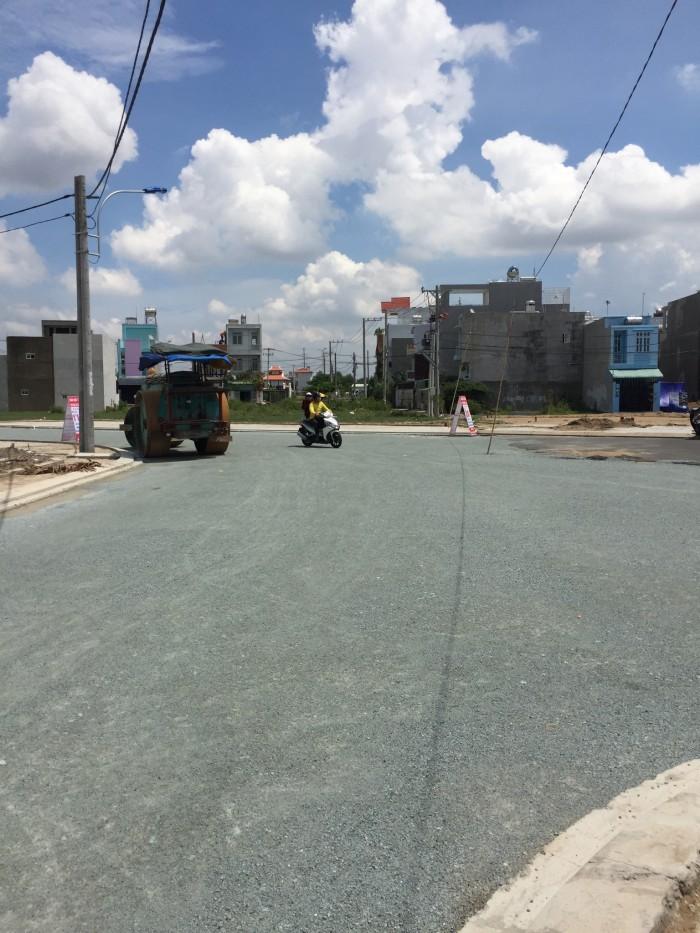 Đất quận 9,đường 990 Phú Hữu giáp quận 2,58m2= 4mx14,5m,SHR,đường 20m
