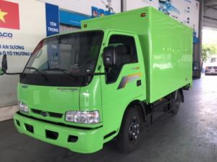 Xe tải kia 2,3 tấn thùng kín nâng tải từ K3000 mới 2017. Bán xe tải hỗ trở trả góp chỉ trả trươc 20%.