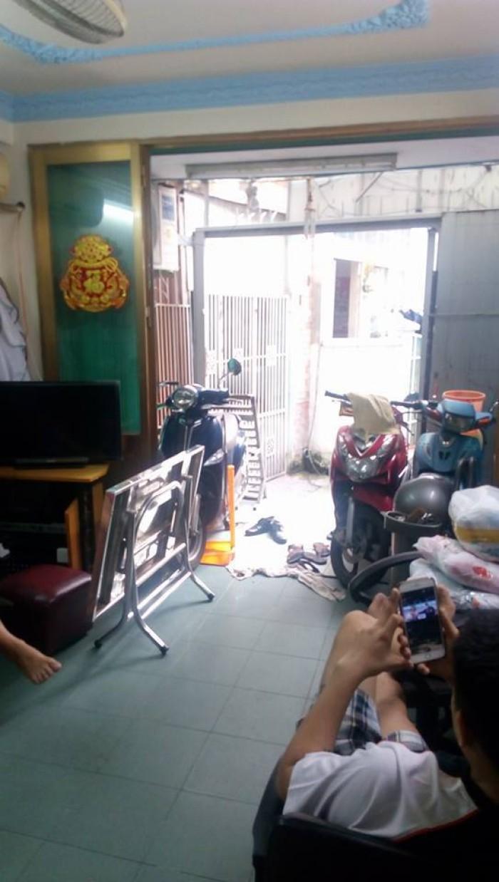 Nhà hẻm xe hơi Nguyễn Duy Dương, F3,Q10, 38m