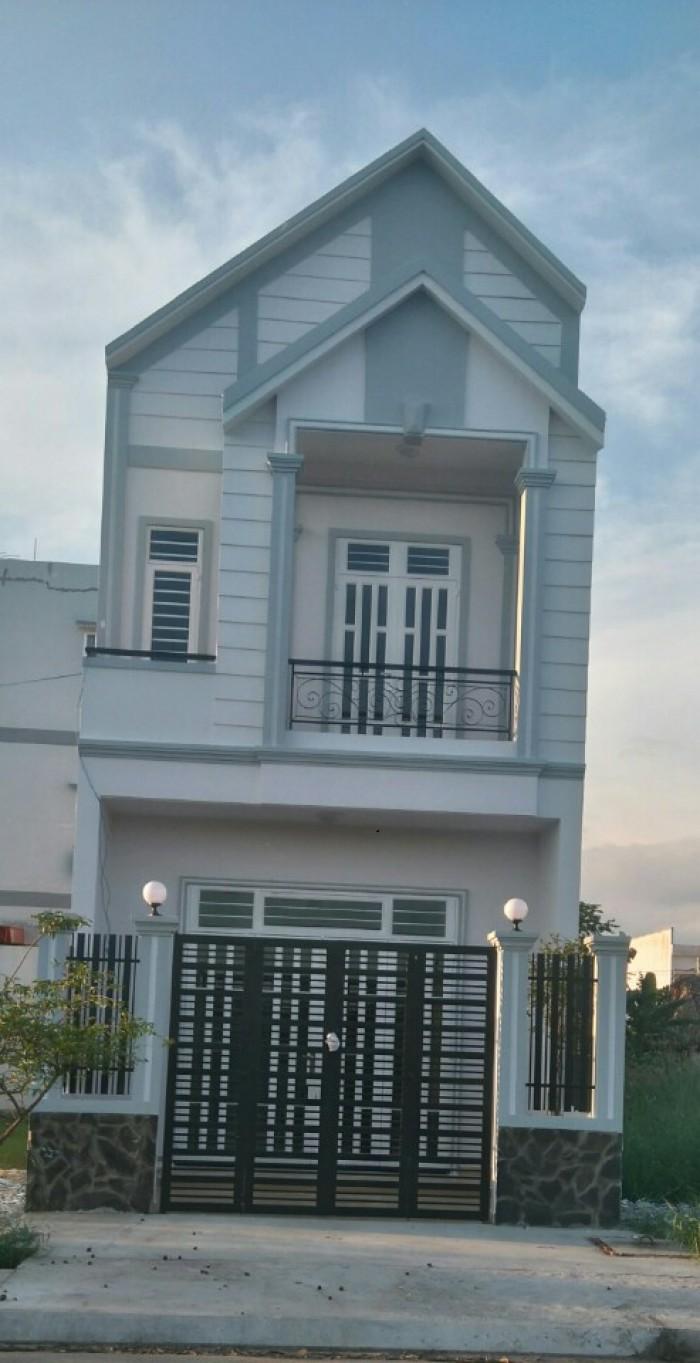 Nhà mới xây 1 trệt 1 lầu 4,2x22m 4 phòng ngủ 2wc