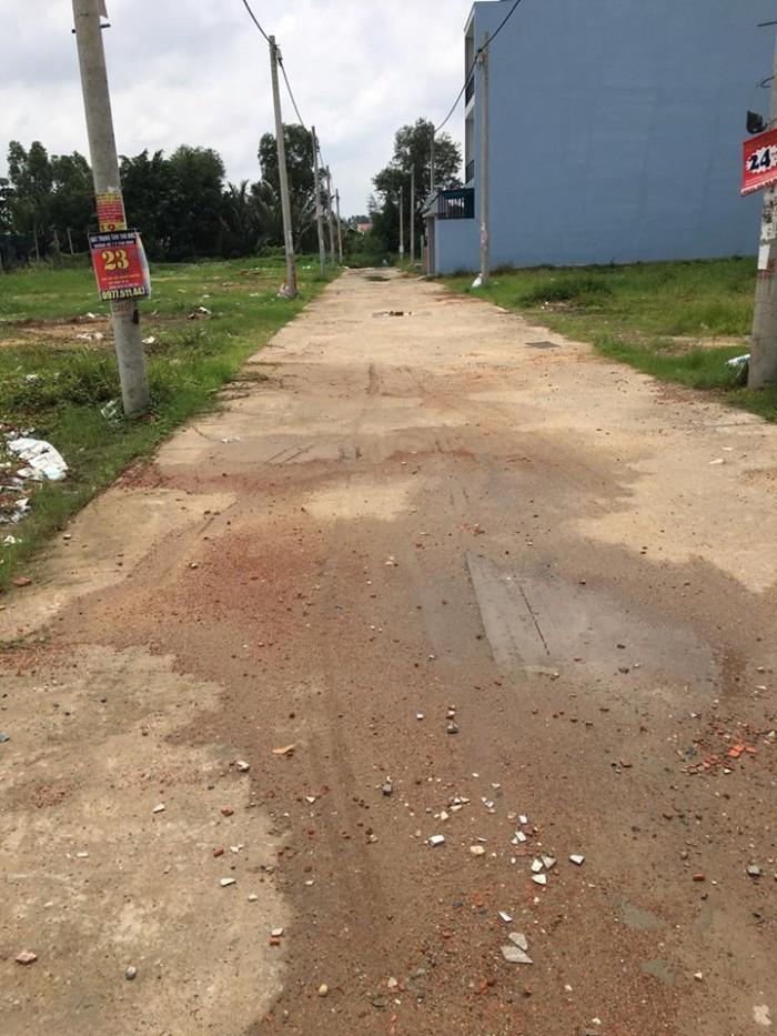 Bán đất thổ cư 2 mặt tiền,  tại đường 24 LINH ĐÔNG - THỦ ĐỨC