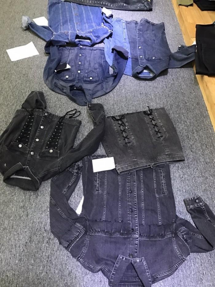 May qia công hàng Jean thời trang - quần Jean, áo khoác Jean,...