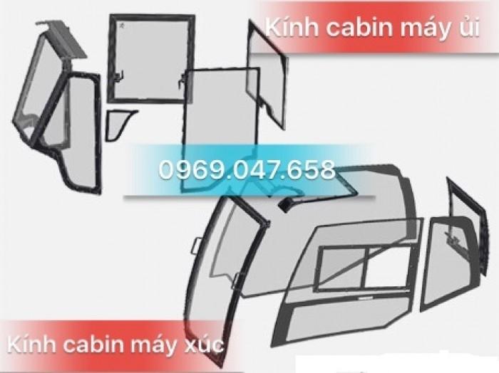 Kính máy xúc - Kính máy ủi - Kính xe công trình 8